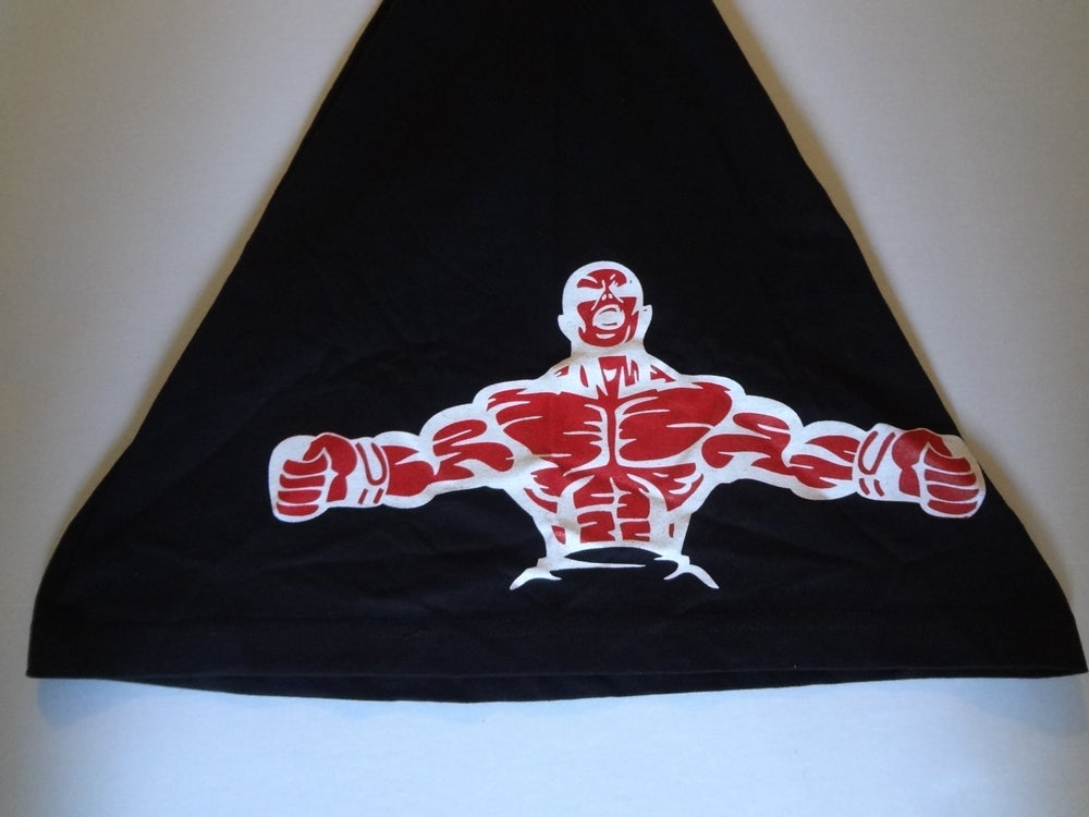 Image of Top Notch Fighter ( Blk T's) Front, Back, Side View