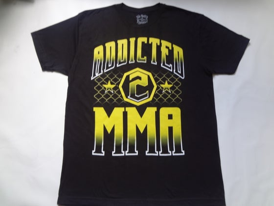 Image of Addicted to MMA-Epic Yellow