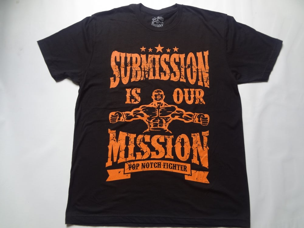Image of Submission is our Mission-Epic Orange