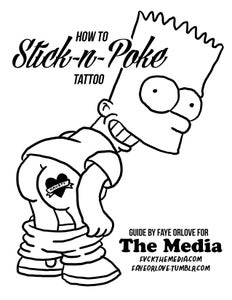 Image of STICK-N-POKE zine