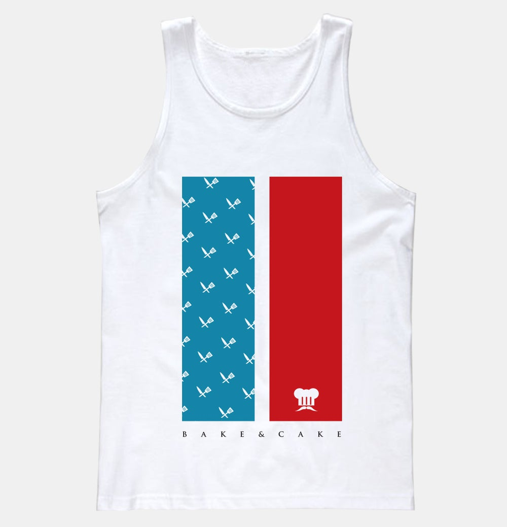 Image of CAKE OF 'MURICA (MENS | White)