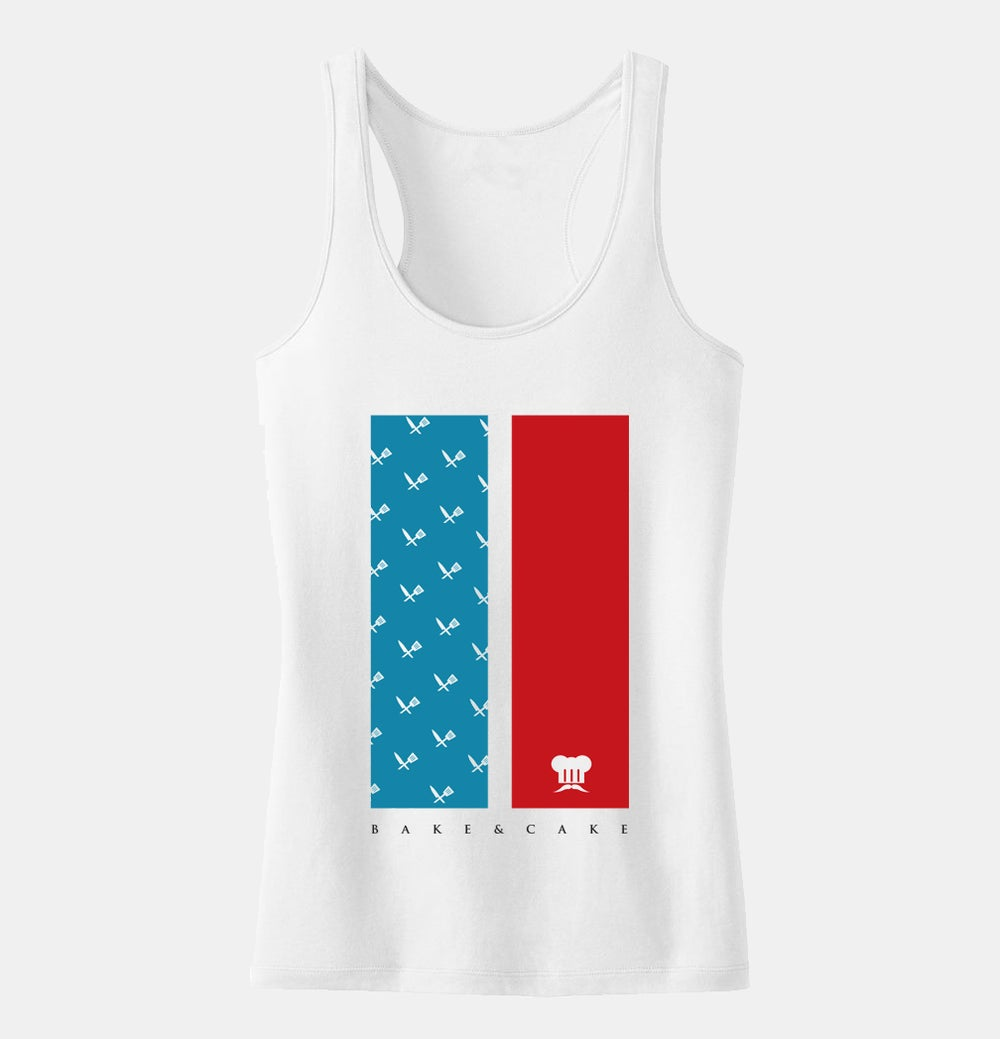 Image of CAKE OF 'MURICA (WOMENS | White)