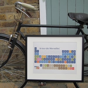 Image of Customised Periodic-table Art Prints