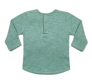 """Image of T-shirt manches longues bébé garçon Blune """"De Bon Poil"""""""