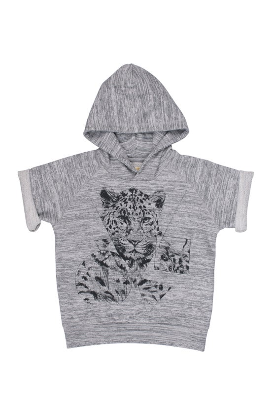 Image of Sweat-shirt à capuche garçon Soft Gallery Patrick Triangle Leo