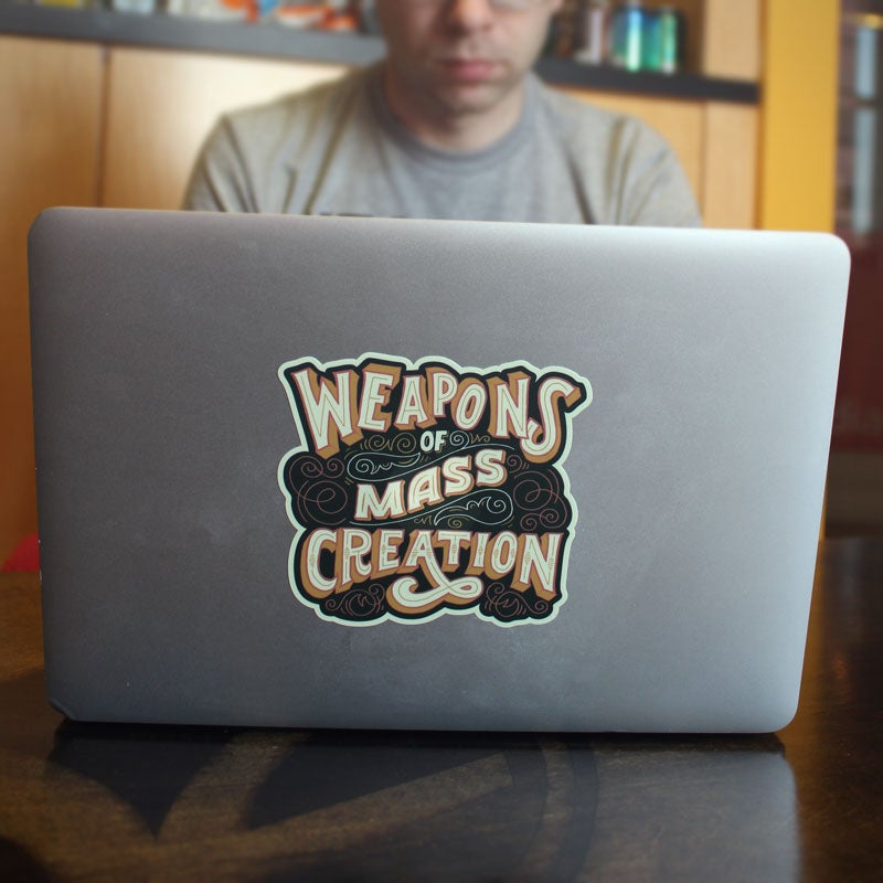 Image of WMC Sticker by Mary Kate McDevitt