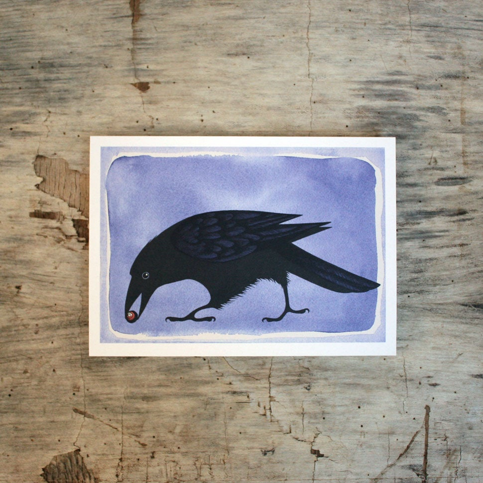 Image of Collecting Crow