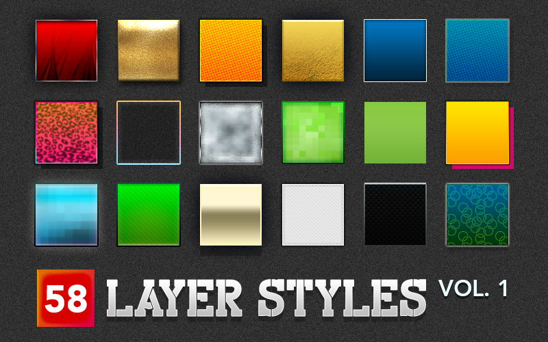 Image of Layer Styles Volume 1