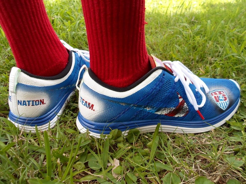 "Image of Nike Flyknit ""where's Landon"""