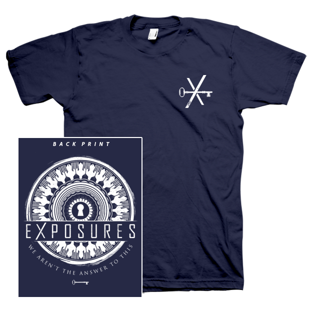 """Image of """"Transitions"""" T-Shirt - Navy Blue"""