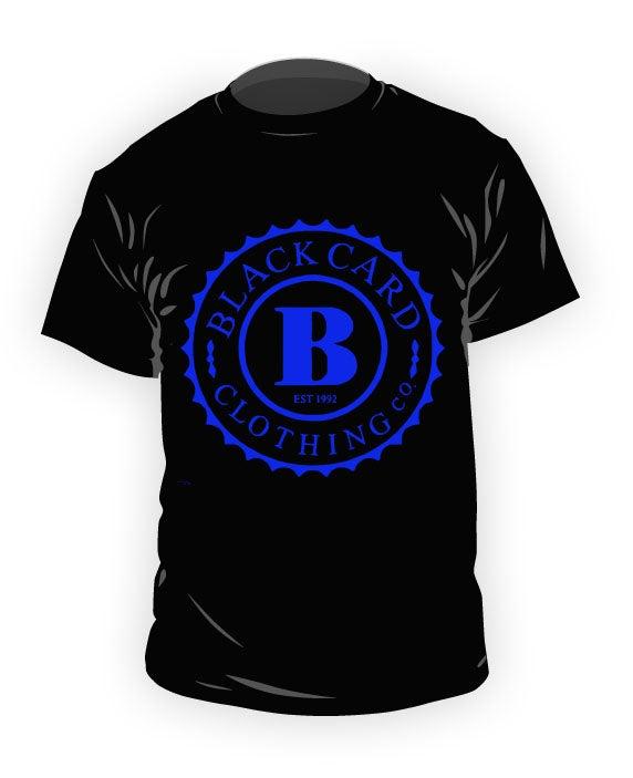 Image of Black/Royal Blue