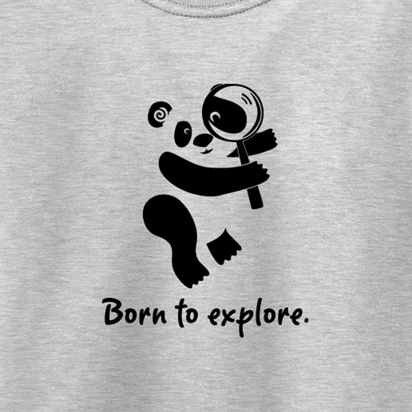 Image of Born to explore.