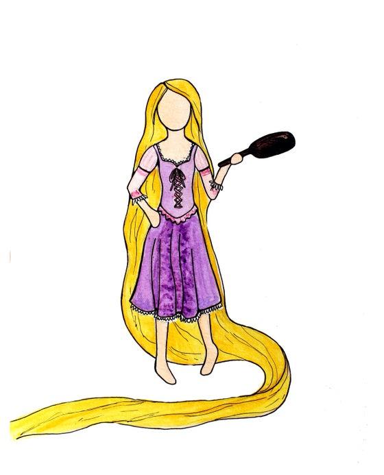 Image of Rapunzel Print