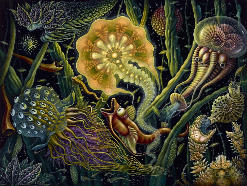 """Image of """"LIGHT CREATURE"""", 18 x 24"""" Open Edition Giclee"""