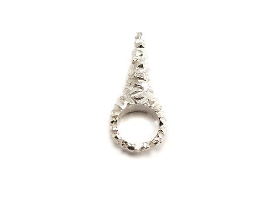 Image of stone age unicorn spike ring