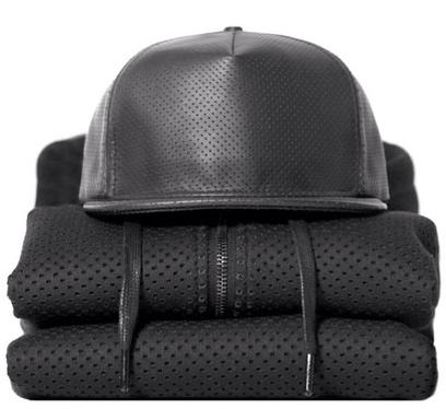 Image of netted baseball cap