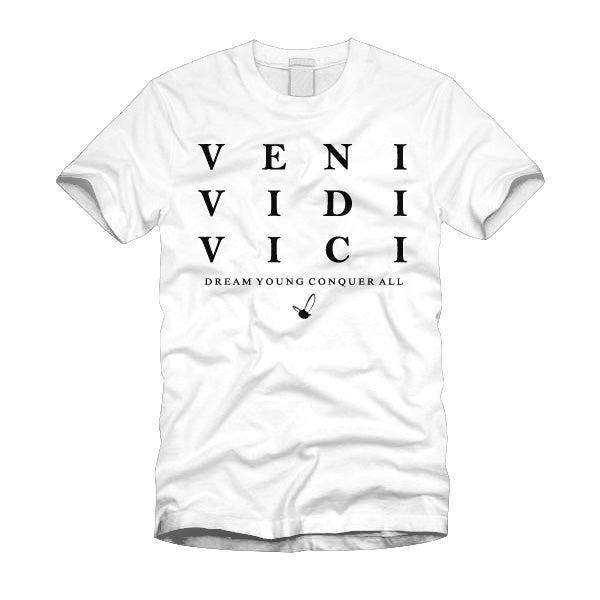 "Image of ""VENI VIDI VICI"" WHITE/TEE"