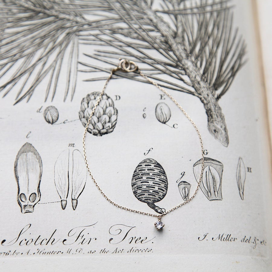 Image of 'LITTLE CHAMPAGNE DIAMOND' bracelet