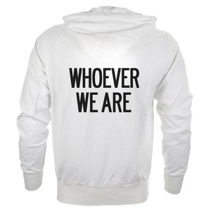 Image of 'WHOEVER WE ARE'  YOUTHFUL  [ZIP HOODIE // ONE SIZE]