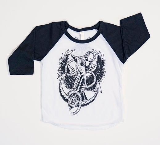 Image of SF Pelican Babies Baseball Tee
