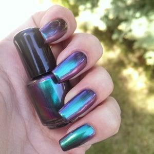 Image of Enchantress - Blue to Purple Multichrome Nail Polish