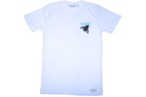 Image of Organic 'Return Of The Fly' White Tee