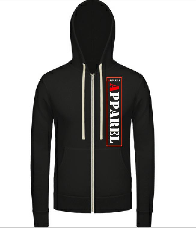 Image of Zip up hoodie