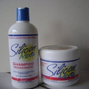 "Image of Deep Treatment ""SILICON MIX"" Shampoo + deep treatment conditioner"