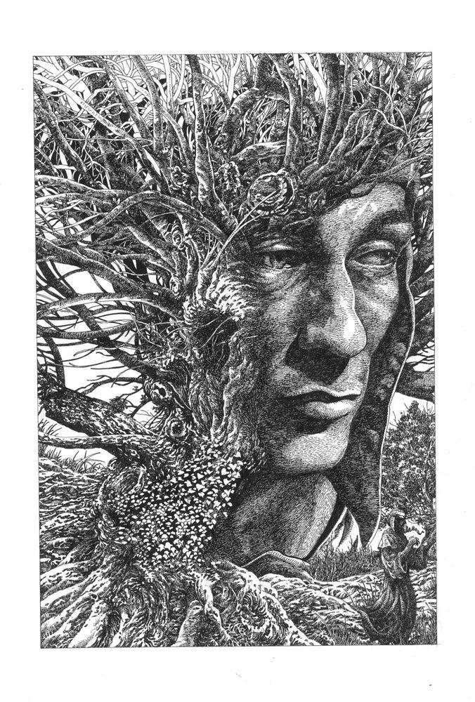 Image of DANTE TREE Original Art Kayanan