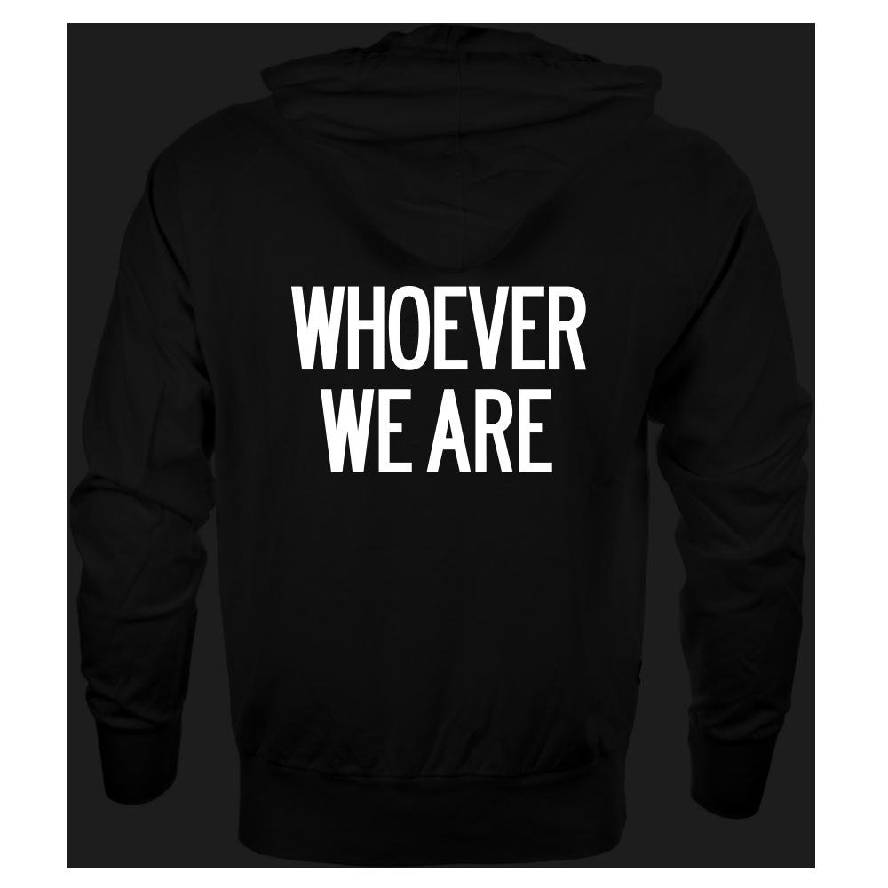 Image of 'WHOEVER WE ARE' [ZIP HOODIE | UNISEX]