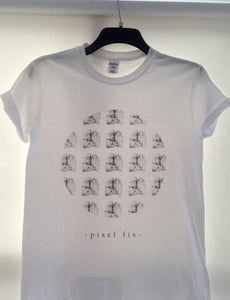 Image of 'Running Thin' Tee (White)