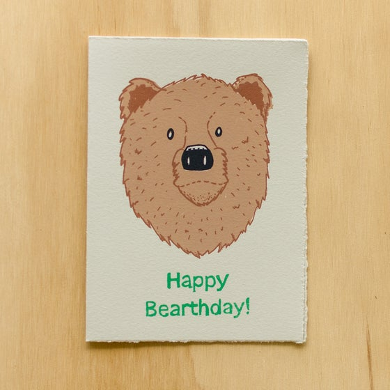 Image of Happy Bearthday