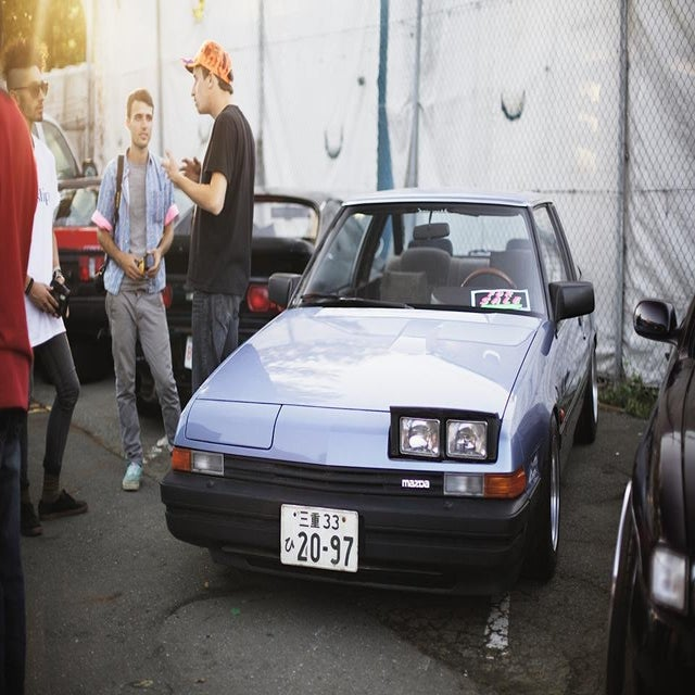 """Image of 1981 Mazda 929 (HB) - """"GLASSHOUSE"""""""