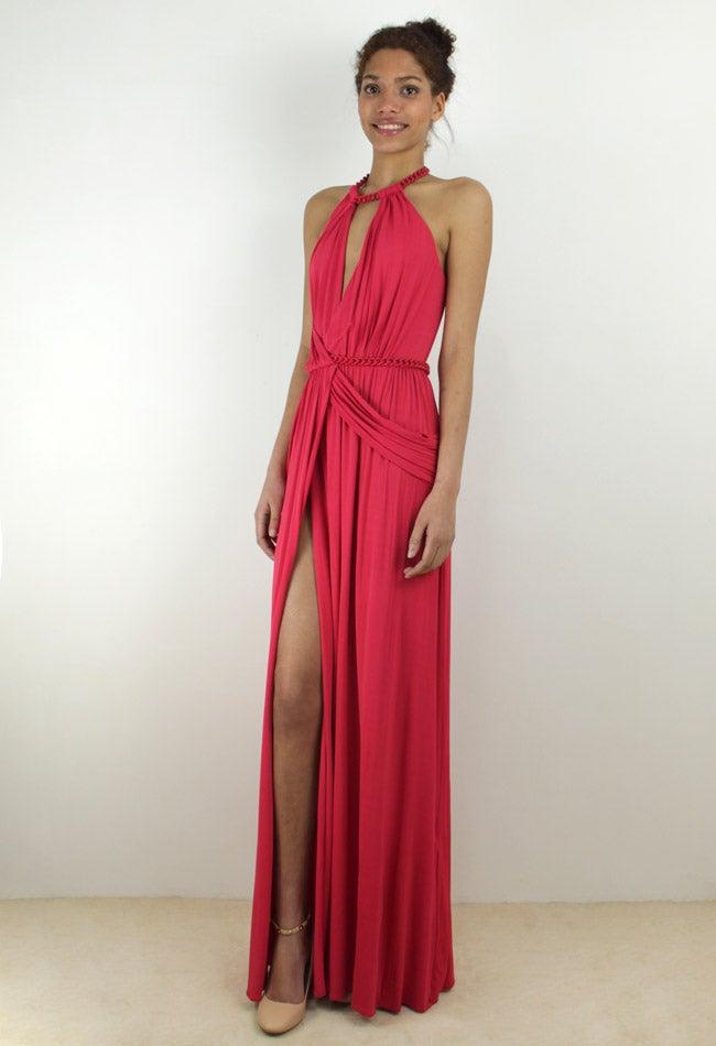 Image of MAXI DRAPED DRESS