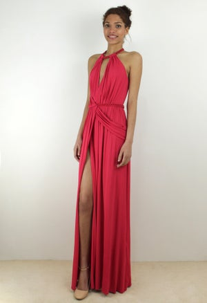 Image of MAXI DRAPED DRESS