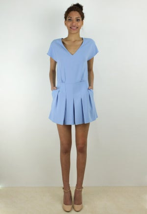 Image of LAVENDER PLAYSUIT