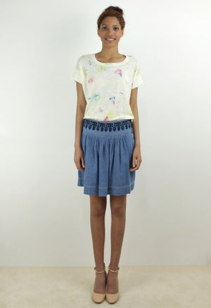 Image of DEMIN SKIRT