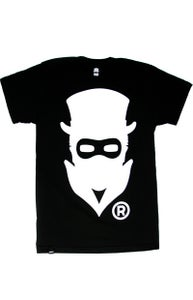Image of Masked Logo (Black) (Mens)