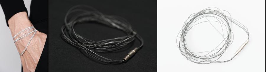 Image of Cylinder Magnet Bracelet 0.35