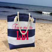 Image of 2014 Take me to LBI tote