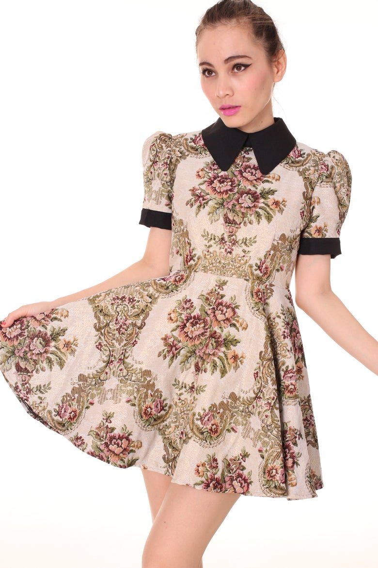 Image of Made To Order - Amelia Floral Dress