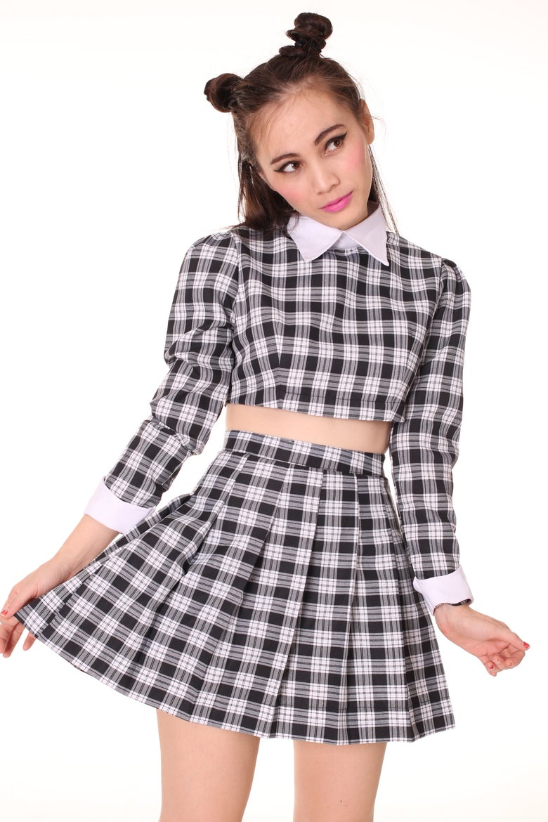 Image of Made To Order - As if Set in Black Checkered