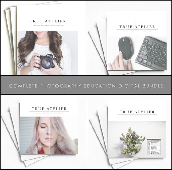Image of COMPLETE PHOTOGRAPHY EDUCATION | DIGITAL BUNDLE