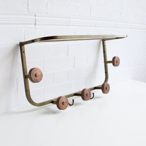 Image of Brass + Copper Coat Rack