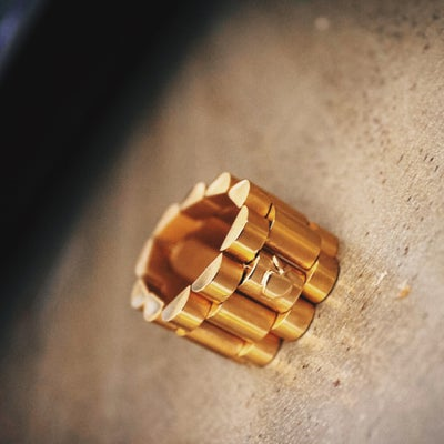 Image of Davinci Rollie ring - gold