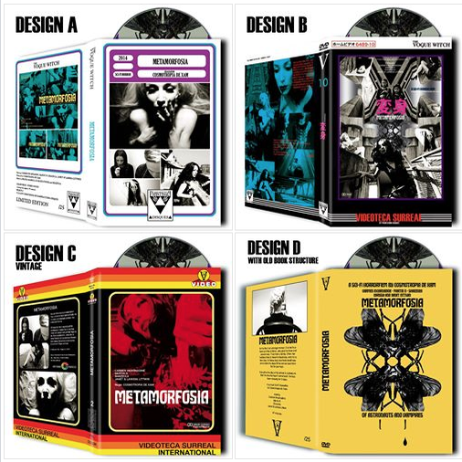 Image of METAMORFOSIA DVD • HARDBOX DVD