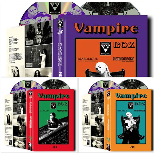 Image of VAMPIRE BOX Diabolique + Metamorfosia 2-DVD HARDBOX PRE-ORDER