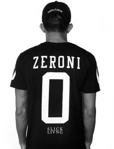 Image of SOLD OUT | EXCLUSIVE RELEASE | ZERO BLACK JERSEY TEE