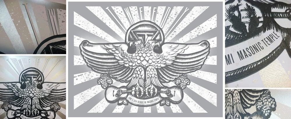 Image of TWEEDY Tour Poster, Detroit