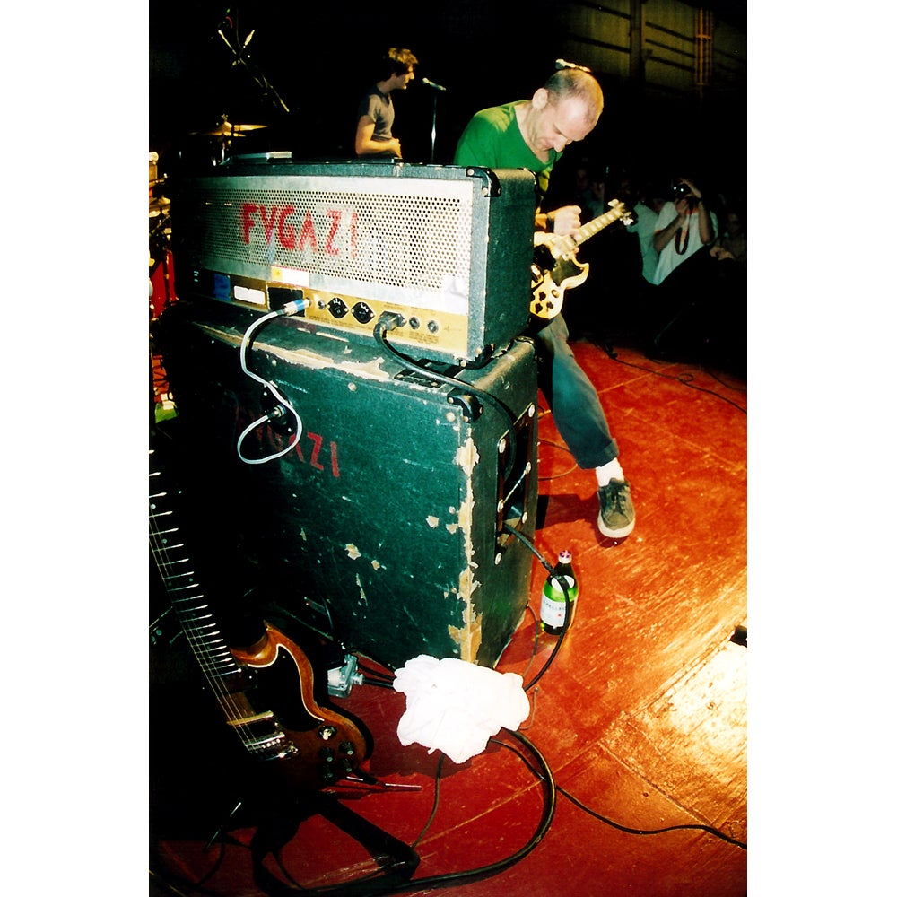 Image of FUGAZI 2002 photograph print by Ryan Russell